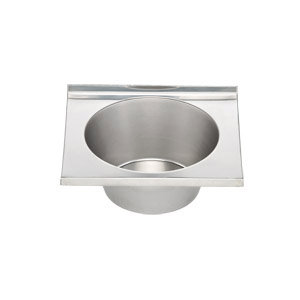 Stainless Steel Bowl With Lip 31cm Wide X 27cm Deep X 12cm High